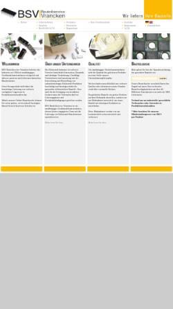 Vorschau der mobilen Webseite www.bsvgermany.de, BSV Bauteilservice Vrancken, Inh. Margaret Vrancken