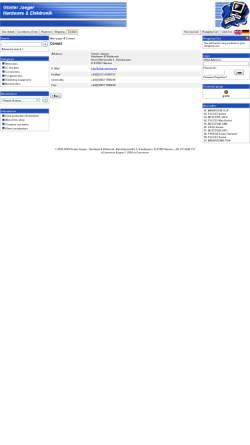 Vorschau der mobilen Webseite www.chip-service.de, Günter Jaeger - Hardware & Elektronik