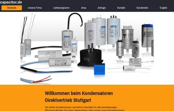 Vorschau von www.capacitor.de, Richter Kondensatorenvertrieb, Inh. Vigo Richter