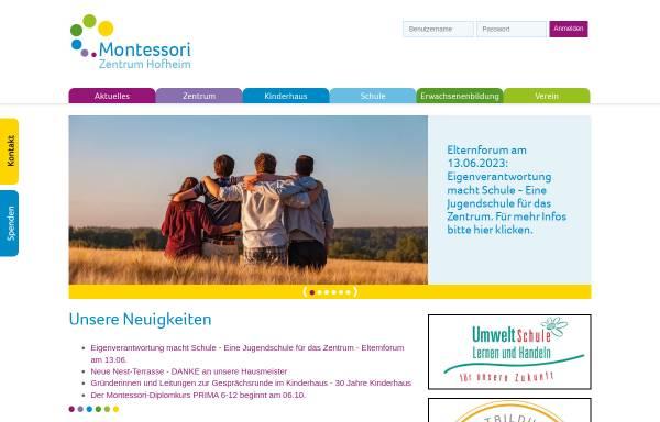 Vorschau von www.montessori-hofheim.de, Montessori-Zentrum Hofheim