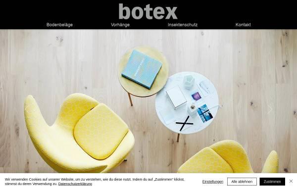 Vorschau von www.botex.ch, Botex AG, Bern