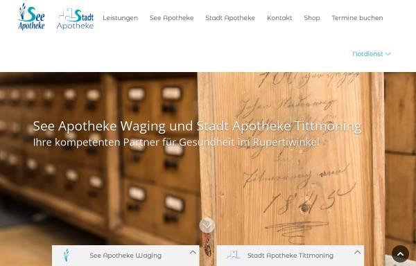 Vorschau von www.see-apotheke-waging.de, See Apotheke
