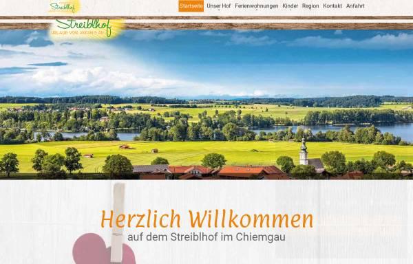 Vorschau von streiblhof.de, Streibelhof