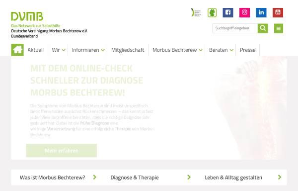 Vorschau von www.dvmb-forum.de, Bechterew-Forum