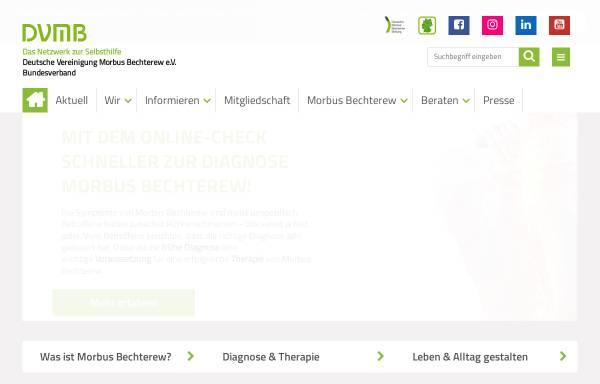 Vorschau von www.bechterew.de, DVMB-Bundesverband