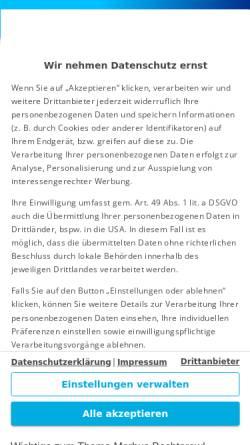 Vorschau der mobilen Webseite www.netdoktor.de, Netdoktor: Morbus Bechterew