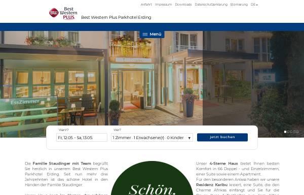Vorschau von www.parkhotel-erding.de, Best Western Parkhotel