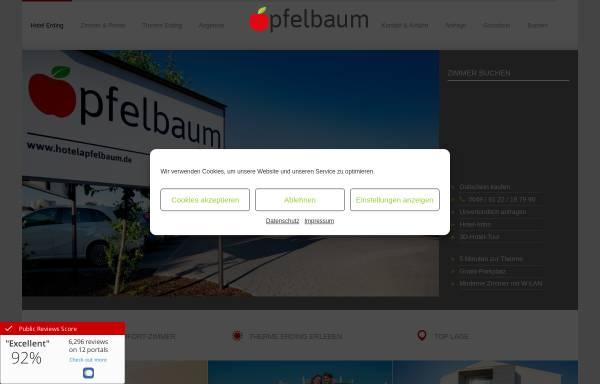 Vorschau von www.gaestehaus-apfelbaum.de, Gästehaus Apfelbaum