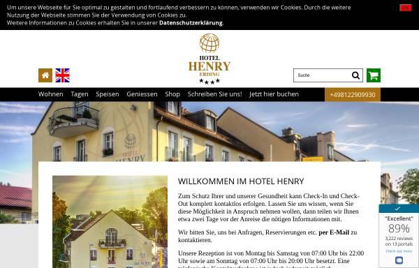 Vorschau von www.hotel-henry.de, Hotel Henry