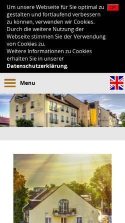 Vorschau der mobilen Webseite www.hotel-henry.de, Hotel Henry
