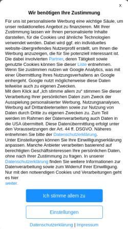 Vorschau der mobilen Webseite www.apotheken-umschau.de, Peniskrebs