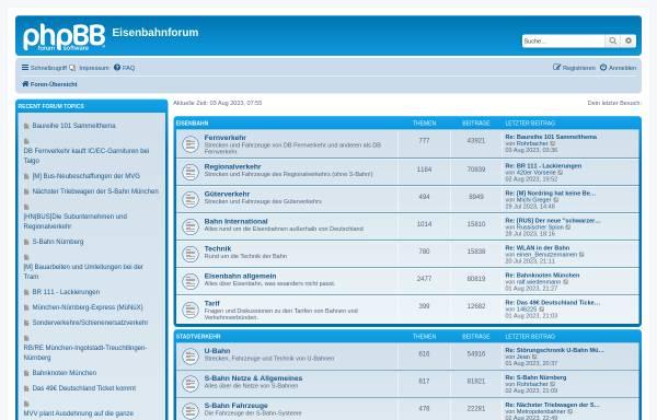 Vorschau von www.eisenbahnforum.de, Eisenbahnforum
