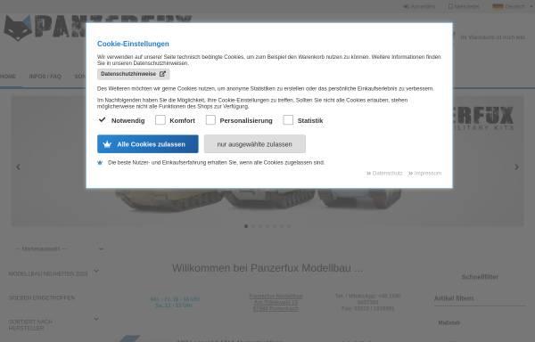 Vorschau von panzerfux.de, Panzerfux Modellbau, Daniel Höhn