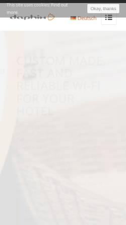 Vorschau der mobilen Webseite www.daphix.de, DaPhi - Strobl & Krey GbR