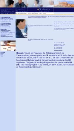 Vorschau der mobilen Webseite www.sl-kontor.de, EBP SL