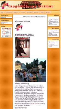 Vorschau der mobilen Webseite www.tangomilonga.de, Carlos Tapia