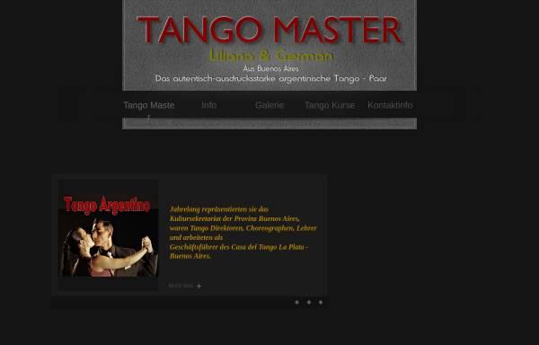 Vorschau von www.tango-master.com, Liliana Espinosa & Germán Cassano
