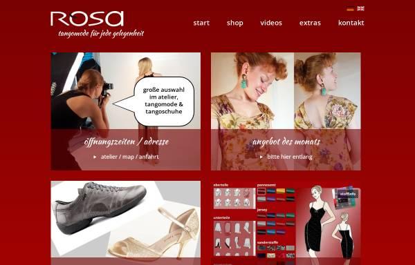 Vorschau von www.tangomode.de, Rosa Tangomode