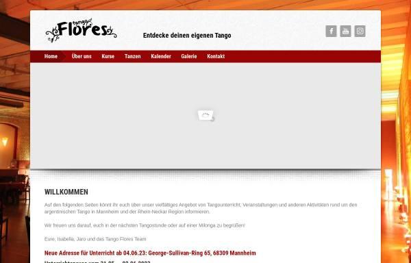 Vorschau von www.tango-flores.de, Tango Flores