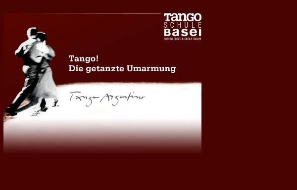 Vorschau von www.tangobasel.ch, Tangoschule Basel