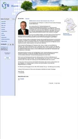 Vorschau der mobilen Webseite www.ltsb.de, Landesverband Tierkörperbeseitigung und Schlachtnebenproduktverwertung - Bayern e. V.