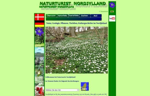 Vorschau von www.naturturist.dk, Naturtourist Nordjütland