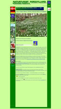Vorschau der mobilen Webseite www.naturturist.dk, Naturtourist Nordjütland