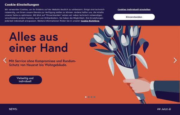 Vorschau von www.dialog-leben.de, Dialog Lebensversicherungs-AG