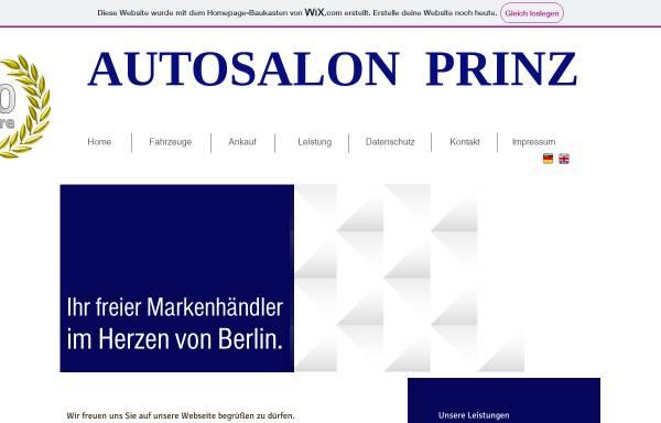 Vorschau von autosalonprinz.wixsite.com, Auto-Salon Prinz