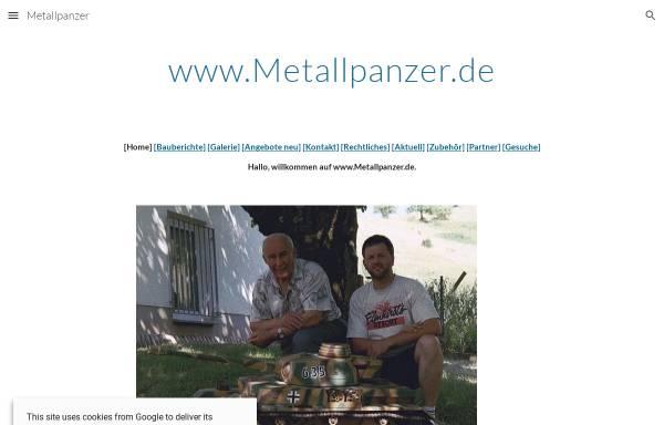 Vorschau von www.metallpanzer.de, Ganzmetall-Modellbaupanzer 1:5