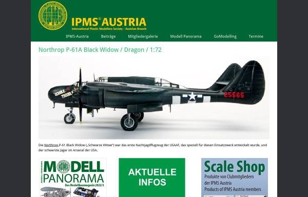 Vorschau von www.ipms.at, IPMS Austria - International Plastic Modellers Society