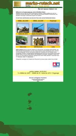 Vorschau der mobilen Webseite www.marko-rutsch.net, Marko-Rutsch.de