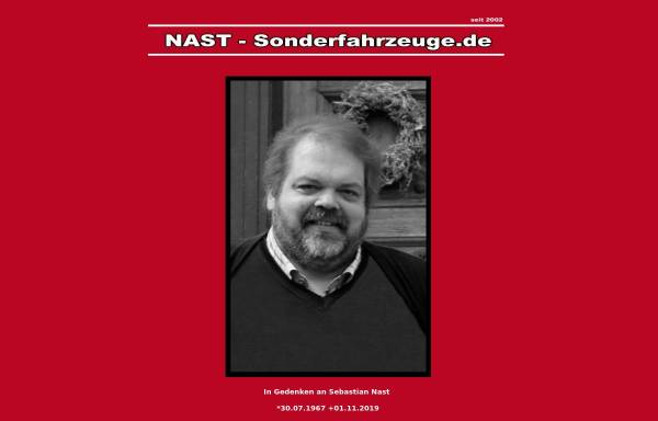 Vorschau von www.nast-sonderfahrzeuge.de, Nast-Sonderfahrzeuge.de