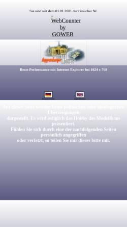 Vorschau der mobilen Webseite www.ph-modellbau.de, PH-Modellbau.de