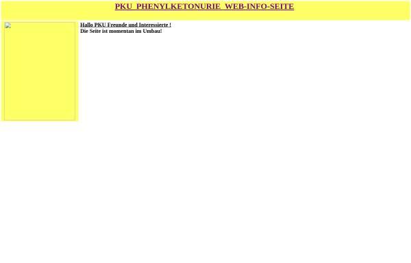 Vorschau von www.phenylketonurie.de, Phenylketonurie