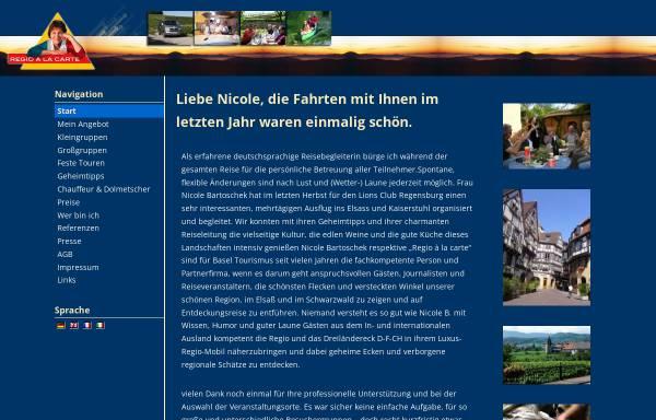 Vorschau von www.tours-a-la-carte.com, Tours a la carte