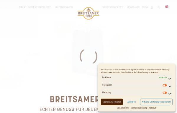 Vorschau von www.breitsamer.de, Breitsamer + Ulrich GmbH Co KG