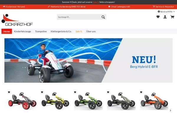 Vorschau von www.gokarthof.de, Gokarthof Vierlanden