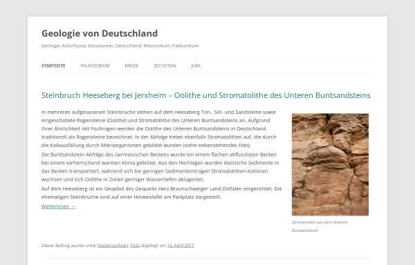 Vorschau von derhaase.de, Geologie mit Exkursionen, Hydrogeologie, Vulkanologie