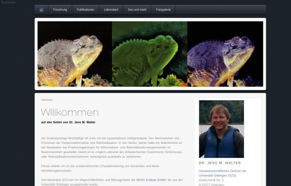 Vorschau von www.jumwalter.de, Geologie [Walter, Jens]