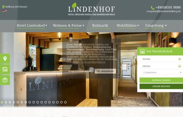 Vorschau von www.lindenhof-kellberg.de, Hotel Lindenhof garni