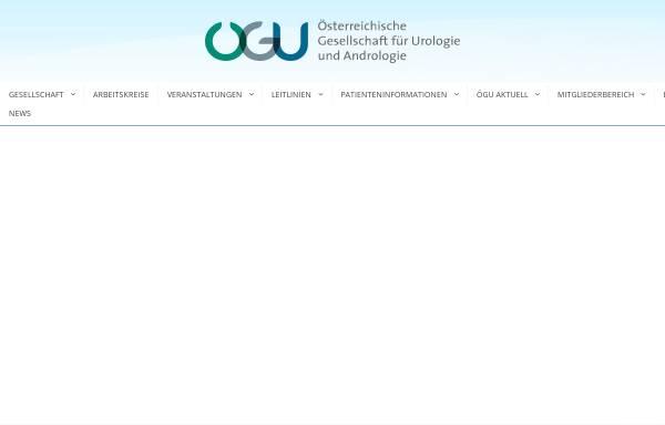 Vorschau von www.uro.at, Österreichische Gesellschaft für Urologie und Andrologie