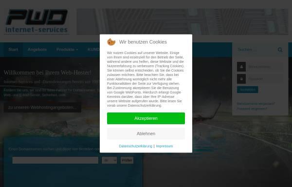 Vorschau von pwd.de, PWD.de internet-services e.K.