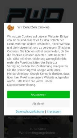 Vorschau der mobilen Webseite pwd.de, PWD.de internet-services e.K.