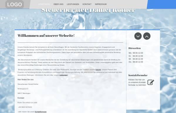 Vorschau von www.steuerberater-rother.de, Steuerberater Daniel Rother