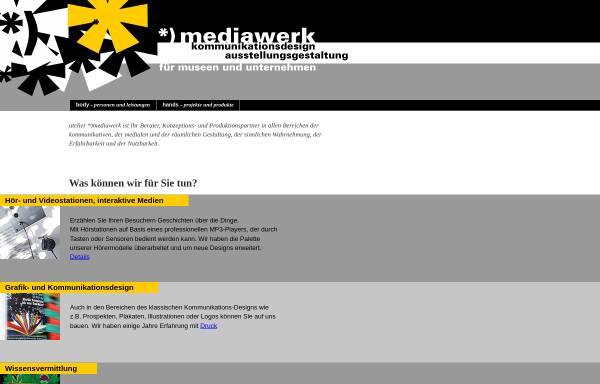 Vorschau von mediawerk.de, Mediawerk - Monika Gause und Klaus Köhnert