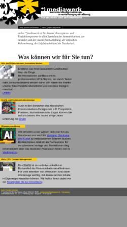 Vorschau der mobilen Webseite mediawerk.de, Mediawerk - Monika Gause und Klaus Köhnert