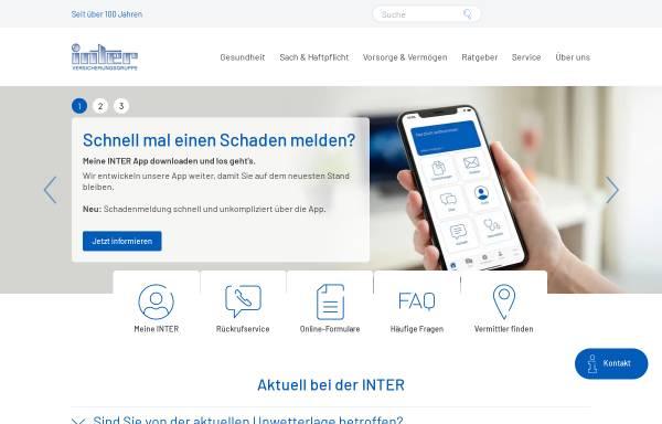 Vorschau von www.inter.de, Inter Versicherungsgruppe