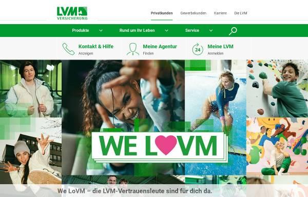 Vorschau von www.lvm.de, LVM-Versicherungen