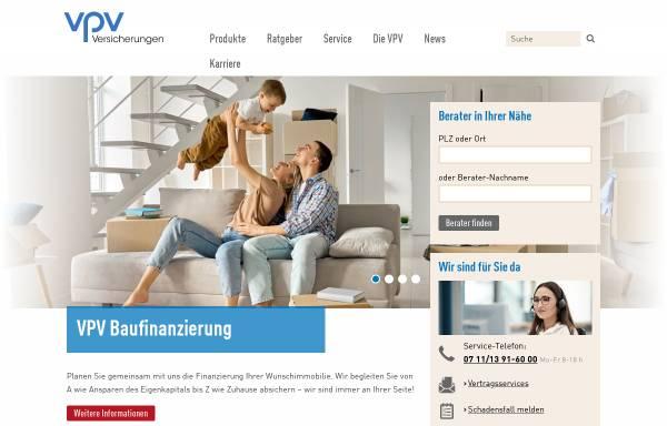Vorschau von www.vpv.de, VPV Versicherungsgruppe